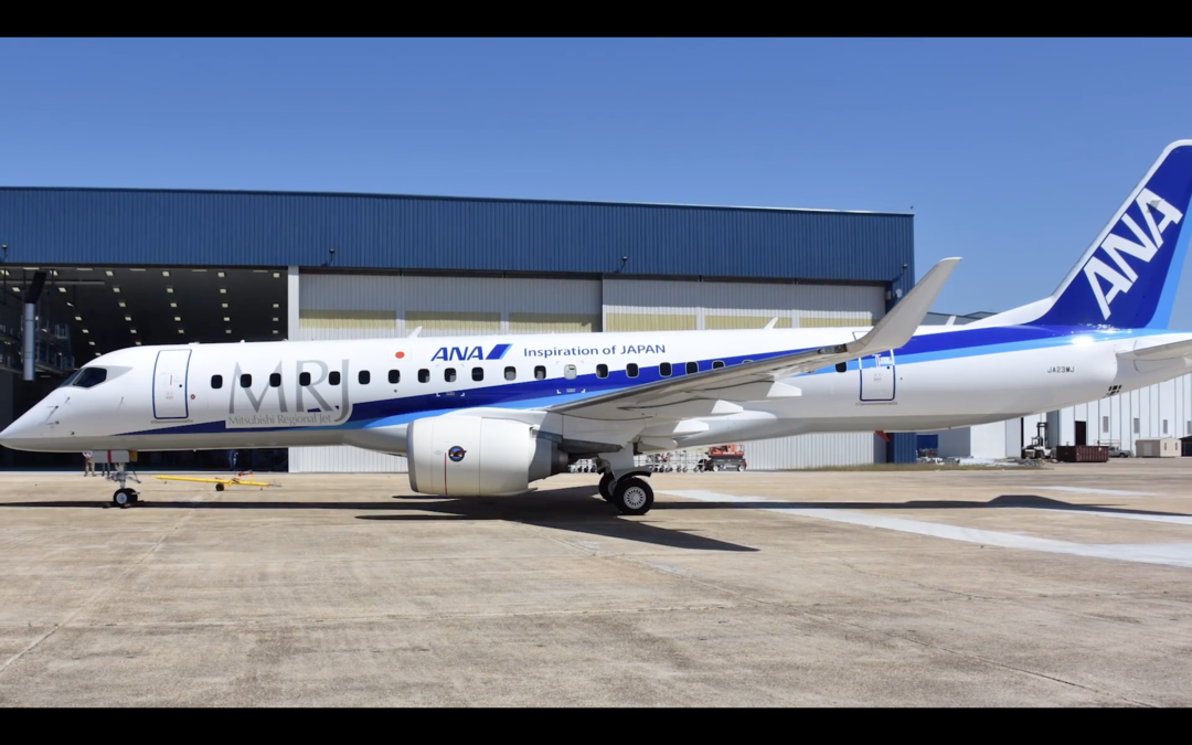 Video: MRJ ANA Livery Paint Time Lapse