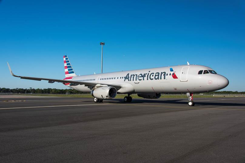 First U.S.-built American Airlines A321 Exits Paint Shop
